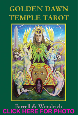 Golden Dawn Temple Tarot Deck - Click for photo