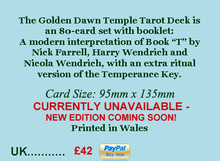 Golden Dawn Temple Tarot Deck - info